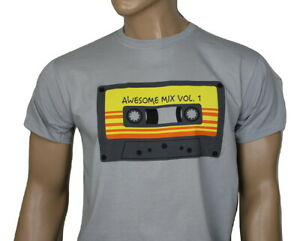 Guardians of the Galaxy film t-shirt - Awesome Mix Tape