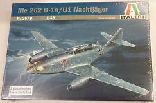 Italeri 1/48 Messerschmitt Me 262 B-1A/U1 Nachtjager Model Kit 2679