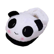 Winter Warm Slippers Cartoon Panda Face Soft Plush Household Thermal Shoes SH