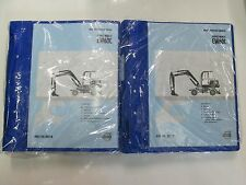 Volvo Construction Equipment EW60C Service Manual Set 2 VOLUME SET NEW VOLVO