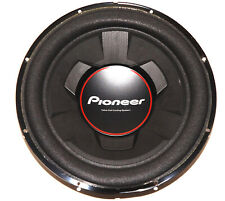 """Pioneer TS-W306R 12"""" 1300W Single Voice Coil 4-Ohm Car Audio Subwoofer"""