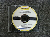 New Holland Model EH160 Hydraulic Excavator Shop Service Repair Manual CD