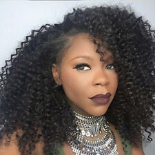 Short Afro Kinky Curly Synthetic Lace Front Wigs Black Women Glueless Baby Hair