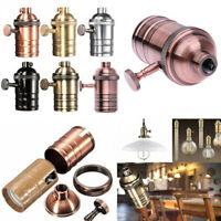 E27 Lamp Holder Vintage Bulb Screw Fitting For Canteen Bar Antique Retro Decor