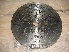 """Monte Christo Symphonion Blechplatte 11,5cm Junghans Uhr automaton 4 1/2"""" disc"""