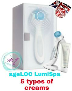 100% Genuine NuSkin ageLOC LumiSpa Beauty Device Skincare Kit With Cream