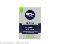 100ml Nivea MEN Sensitive After Shave Balsam 0% Alkohol KEIN BRENNEN