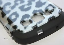 Samsung Galaxy SIII S3 S 3 i9300 HARD&SOFT CASE DUAL LAYER BLACK LEOPARD CHEETAH