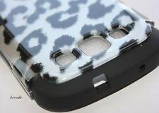 Samsung Galaxy SIII S3 S 3 i9300 HARD&SOFT CASE DUAL LAYER BLACK LEOPARD CHEETAH