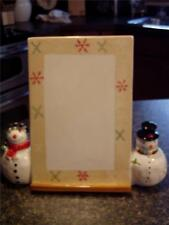 NIB ONEIDA SNOWMATES CERAMIC WRITING BOARD W/DRY ERASE - LAST ONE!