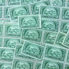 {BJ Stamps} 987   Bankers Association.  100 MNH 3 Cents Stamps.  Issued in 1950.