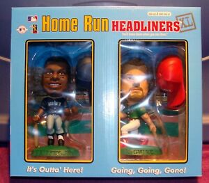 1998 Corinthian HR Headliners XL 2-Pack  KEN GRIFFEY JR /  MARK McGWIRE NIB  HOF