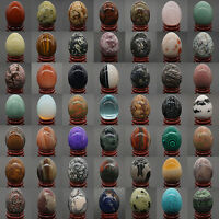 Wholesale Gemstone Lots Mix Natural Stone Crystal Sphere Massage Healing Egg