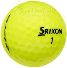 24 AAA Srixon Z-Star YELLOW Used Golf Balls (3A) - FREE SHIPPING