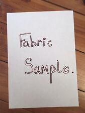 SAMPLE PIECE OF FABRIC.