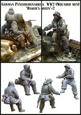 1/35 Allemand de la seconde guerre mondiale PANZER Riders-Set 2 Resin Model Kit (2 figures)