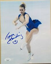 Tonya Harding signed 8x10 photo Triple Axle Dancing with the Stars  JSA coa