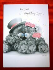 On your Wedding Day - Small Photo Finish- Tatty Teddy Me to You - Greeting Card