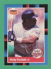 1988 Donruss MVP Kirby Puckett Minnesota Twins #15