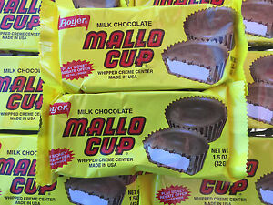 Boyer Mallo Cups Milk Chocolate Whipped Creme Center 24ct FREE SHIPPING