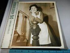 Rare Original VTG Period British Actress Helena Carroll Movie Photo Still