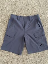 NEW WITHOUT TAGS Under Armour Golf Classy Cargo Shorts Men Sz 32 Grey