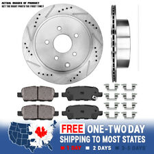 FX45 Front and Rear R1 OE Optimum Series Brake Pads For 2003-2004 Infiniti FX35