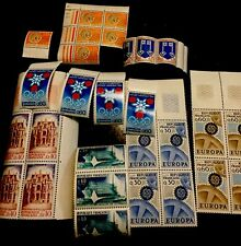 1966-67 France Lot Of Stamps. Tourist , Montreal Olympics ,europa