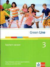 Green Line 3 Teacher's Version (9783125471412 )