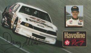 1988 Davey Allison Texaco Havoline Ford Thunderbird NASCAR Winston Cup Hero Card