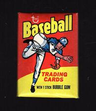 1975 topps mini baseball wax pack