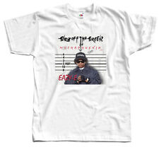 Eazy-E - Str8 Off Tha Streetz Of Muthaphukkin Compton, T-SHIRT DTG (WHITE) S-5XL