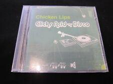 "Chicken Lips - Clicks, Acid ""n"" Disco - Excellent - NEW CASE!!!"
