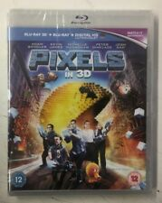 Pixels (Blu-ray 3D) [Region Free] Adam Sandler