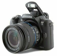 Samsung NX10 14.6MP Digital SLR Camera - Black (Kit w/ NX 18-55mm OIS Lens)