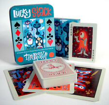 The Lucky Stack Playing Cards by TIM BISKUP 2nd Edition w/3 extra cards & Tin