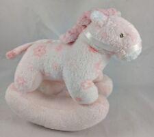 """Ty Pink Rocking Horse Plush 8"""" 2005"""