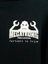 Vintage Megatronic Records Hoodie Powerman 5000 Spider One Pm5K Mens Large