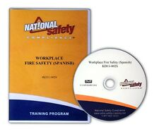 Spanish Workplace Fire Safety Dvd Training Kit