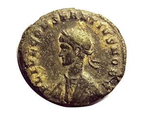 CONSTANTINE II 272-337AD - CAMPGATE REVERSE - THESSALONICA MINT  #RZS3