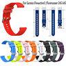 1*Silikon Armband Handschlaufe für Garmin Vivoactive3 Vivomove Forerunner245 645