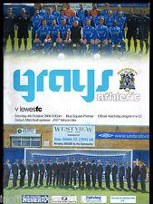 2008/09 Grays Athletic V Lewes 04-10-2008 Blue Square Premier