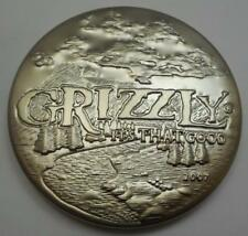 2007 GRIZZLY SNUFF CAN LID - NEW IN ORIGINAL PACKAGE