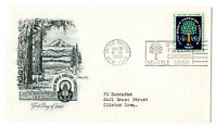 Six 1960 United Nations First Day Covers