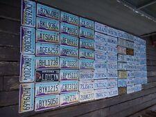NICE'R BIG BULK LOT OF 75 ARIZONA CA AR IL TX WA LICENSE PLATES W FREE SHIPPING!
