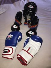 Kids Boxing Gloves & Headgear