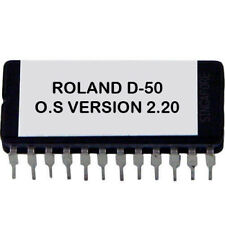 ROLAND D-50 OS 2.20 UPGRADE EPROM later version D50