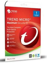 Trend Micro Maximum Security 2018 | 3PC | 1Year | NO CD | NO BOX - fast shipping
