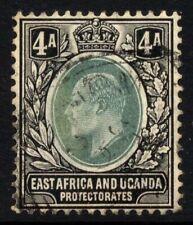 East Africa & Uganda SG 23 Cat £18 4 annas Multi CA Wmk Fine Used