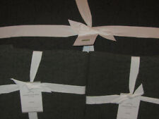 New Pottery Barn Washed Cotton F/Q Quilt & 2 Standard Shams Shale Gray
